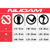 Protection Du Sportif NIJDAM Set protections enfant taille S