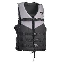Protection Du Sportif PLASTIMO Gilet de Sauvetage Passion 70N - Gris - XL - >90 kg