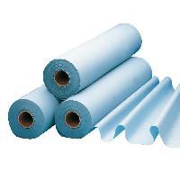 Protection Matelas - Alese Draps de protection plastifie pour lit et lit d'examen LCH - l 50 cm x L 65 metres - 1 rouleau