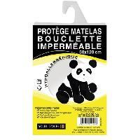 Protection Matelas - Alese Protege-matelas bouclette bebe 60x120 cm blanc