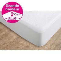 Protection Matelas - Alese Protege matelas Alcomeria Pur Essential 140x190 cm blanc