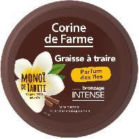 Protection Solaire Corps Et Visage CORINE DE FARME Graisse a traire en pot - Parfum des Iles - 150 ml