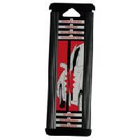 Protections Carrosserie 2 Butoirs de portes noir adhesifs 215cm Generique