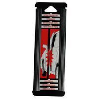 Protections Carrosserie 2 Butoirs de portes transparents 21.5cm Generique