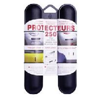 Protections Carrosserie 2 Butoirs pare-chocs 25cm noirs ADNAuto