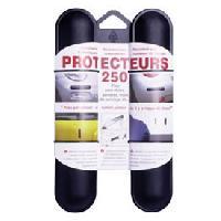 Protections Carrosserie 2 Butoirs pare-chocs 25cm noirs Generique