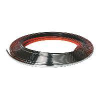 Protections Carrosserie Bande Chromee souple autocollante - 8mx7mm