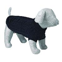 Pull - Gilet TRIXIE King of Dogs pullover XS- 25 cm noir pour chien