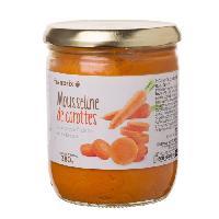Puree FRANPRIX Mousseline de carottes a la creme fraiche et au beurre - 380 g