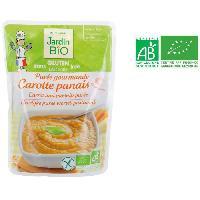 Puree JARDIN BIO Puree gourmande carotte panais bio - 250 g
