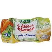 Purees De Legumes Bledina Idees de maman puree 3 legumes 2x200g