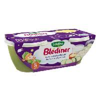 Purees De Legumes Blediner Risotto Courgettes Gruyere Fondu 2x200g