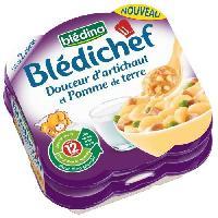 Purees De Legumes Douceur d'artichaut et pomme de terre Bledichef - 2 x 230 g