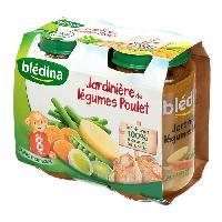 Purees De Legumes Petits pots jardiniere de legumes et poulet - 2 x 200 g