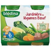 Purees De Legumes Puee Jardiniere legumes boeuf - Petit pot 2x200g