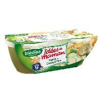 Purees De Legumes Puree de pommes de terre. courgettes. creme avec morceaux - Des 12 mois 2 x 200 g