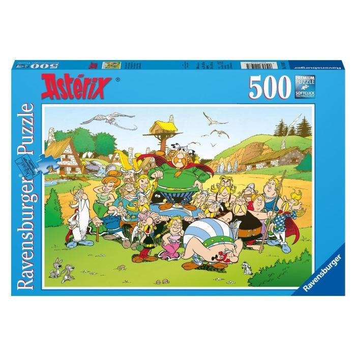 Puzzle-500-pcs-Asterix-Au-Village-Ravensburger