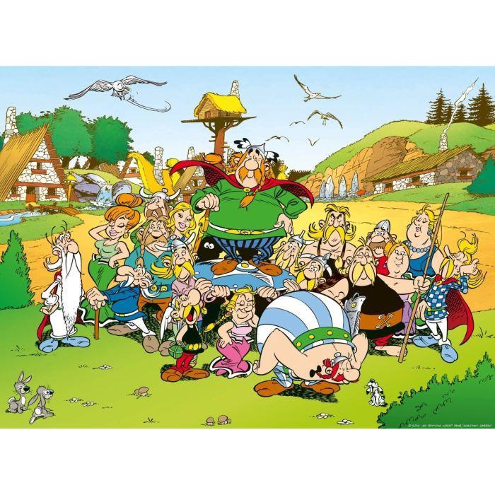 Puzzle-500-pcs-Asterix-Au-Village-Ravensburger miniature 2
