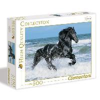 Puzzle Black Horse Puzzle 500 pcs