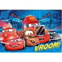 Puzzle CARS Puzzle maxi 104 pieces