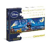 Puzzle CLEMENTONI - Mickey et Minnie - Puzzle Panorama 1000 Pieces