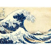 Puzzle Collection Museum Hokusai La Grande Vague Puzzle 1000 pieces