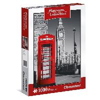 Puzzle Collection Platinium Rouge puzzles 1000 pieces