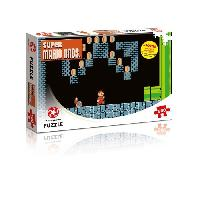 Puzzle PUZZLE - Super Mario Bros - Underground Adventures - 500 pieces