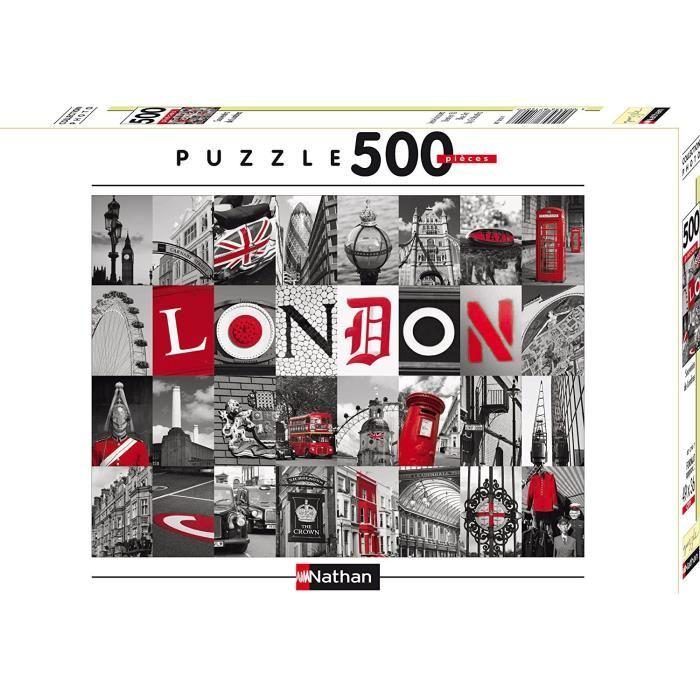 Puzzle-Souvenirs-De-Londres-500-pcs-Nathan