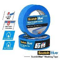Quincaillerie 3M Ruban de Masquage Multi-Surfaces ScotchBlue - Bleu - 41mx36mm