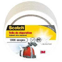 Quincaillerie 3M SCOTCH Toile adhésive de réparation - 10 m x 48 mm - Blanc