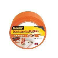 Quincaillerie 3M SCOTCH Toile adhesive de reparation - 25 m x 48 mm - Orange