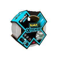 Quincaillerie 3M Toile de Réparation Extremium Invisible - Transparent - 20mx48mm