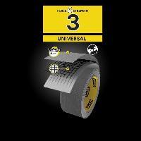 Quincaillerie 3M Toile de Réparation Universal - Gris - 50mx48mm