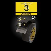 Quincaillerie 3M Toile de Réparation Universal - Noir - 25mx48mm