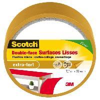 Quincaillerie SCOTCH Double-face - 7.5 m x 32 mm - Surface lisse
