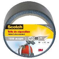 Quincaillerie SCOTCH Toile adhesive de reparation - 10 m x 48 mm - Gris