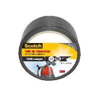 Quincaillerie SCOTCH Toile adhesive de reparation - 10 m x 48 mm - Noir