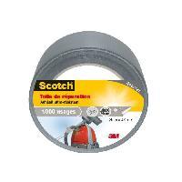 Quincaillerie SCOTCH Toile adhesive de reparation - 25 m x 48 mm - Gris