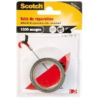 Quincaillerie SCOTCH Toile adhesive de reparation - 3 m x 19 mm - Noir
