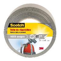 Quincaillerie SCOTCH Toile adhesive de reparation - 50 m x 48 mm - Gris