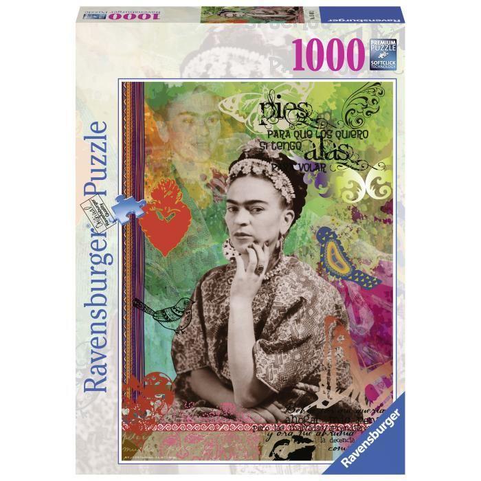 RAVENSBURGER-Puzzle-1000-p-Frida-Kahlo-de-Rivera