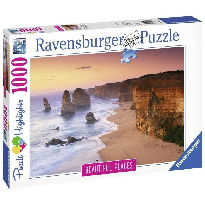 RAVENSBURGER-Puzzle-1000-p-Great-Ocean-Road-Australie-Puzzle-Highlights miniature 2