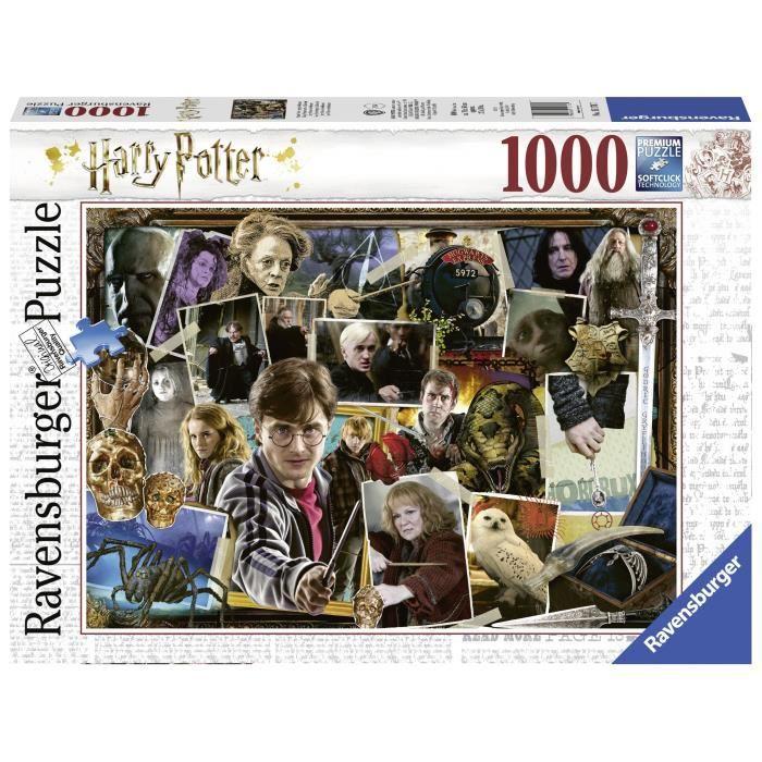 RAVENSBURGER-Puzzle-1000-p-Harry-Potter-contre-Voldemort
