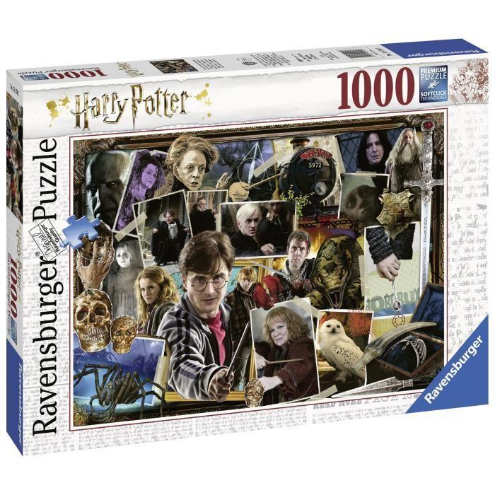 RAVENSBURGER-Puzzle-1000-p-Harry-Potter-contre-Voldemort miniature 2