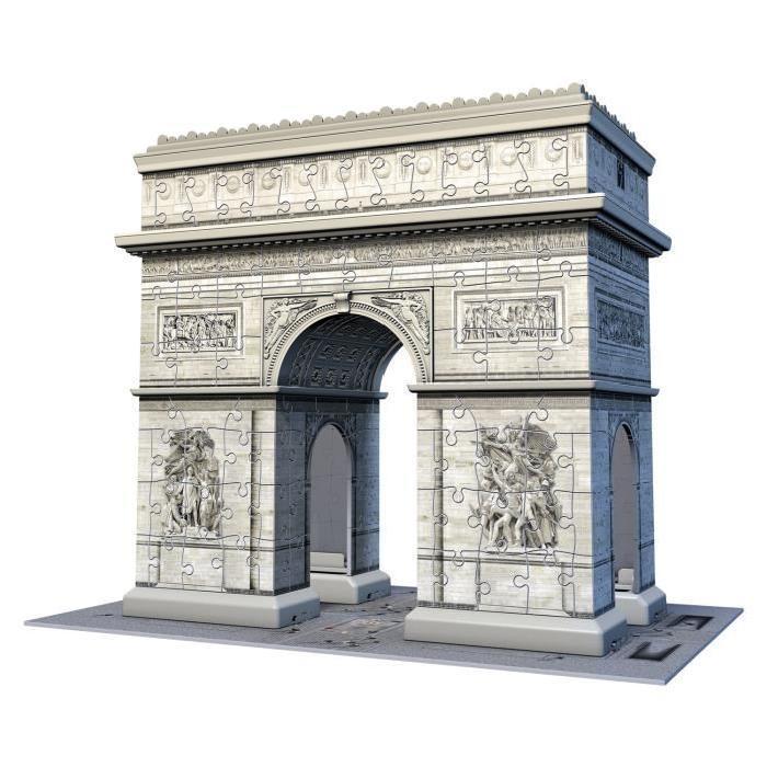 RAVENSBURGER-Puzzle-3D-Arc-De-Triomphe-216-pcs miniature 2