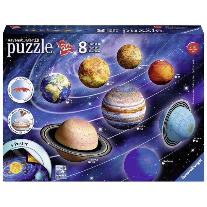 RAVENSBURGER-Puzzle-3D-Systeme-solaire