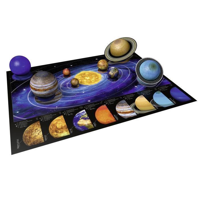 RAVENSBURGER-Puzzle-3D-Systeme-solaire miniature 2