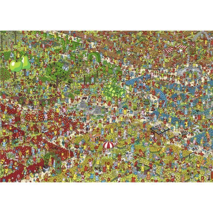 RAVENSBURGER-Puzzle-N-1000-p-Charlie-au-jardin-Ou-est-Charlie-Nathan miniature 2