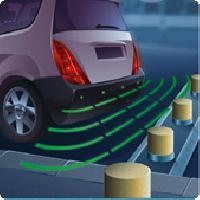 Radars de recul Radar de recul Special VUL - 4 capteurs - afficheur - Reconnaissance Attelage - Beep et Park N6 - Sensors de parking